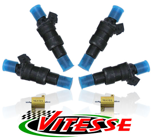 Vitesse Racing Fuel Injectors with Ballast Resistors